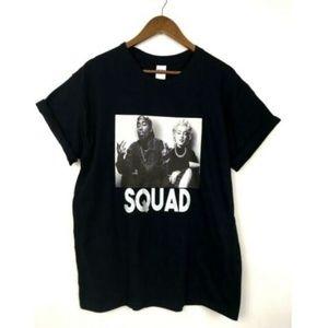Custom Tupac Marilyn Monroe Squad T-Shirt